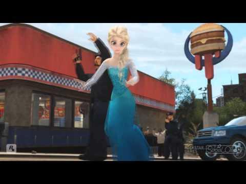 GTA IV: Elsa the Snow Queen