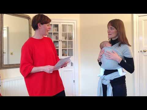 Edinburgh Birth and Baby Newborn Sling Demo
