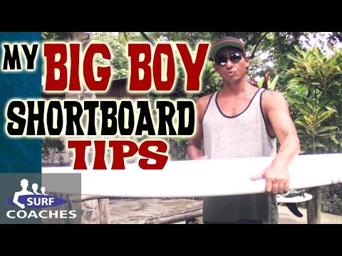 Choosing a Bigger Guy Shortboard - Mo'es Tips and Board Dimensions - Surfing Equipment