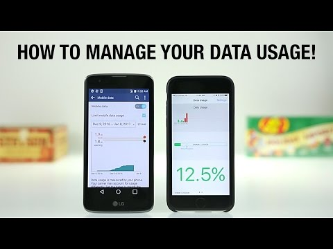 How to Manage Your Cellular Data Usage!