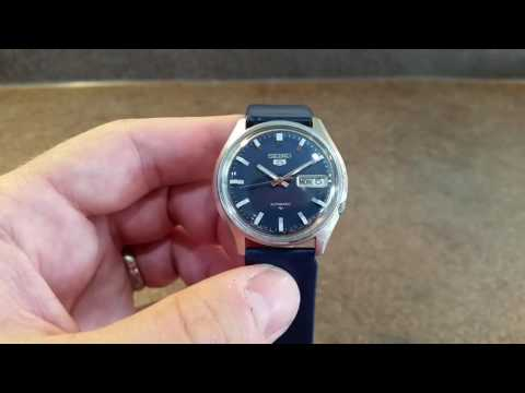 How to wind up a Seiko 5 automatic watch