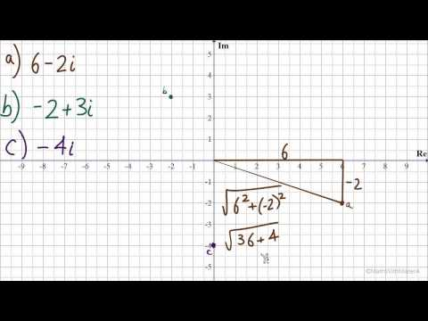 Complex Numbers in Trig Notation - Part 4 (Converting Complex to Trig Notation #1)