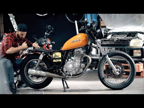 The First Ride   Motorcycle Make Over