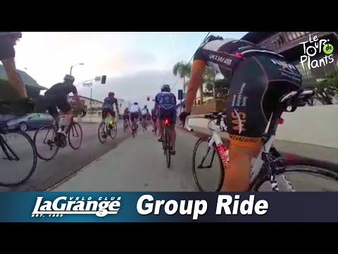 GoPro: Velo Club LaGrange - Fast Tuesday Varsity Cycling Group Ride - Marina del Rey (Real Time)