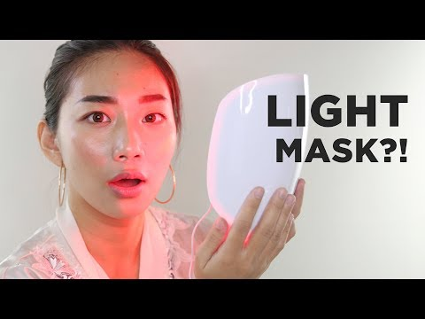 LIGHT MASK for FLAWLESS SKIN?! | Raiza Contawi
