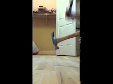 Distressing A Hardwood Floor