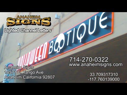 Custom Business Signs made Irvine, Ca.
