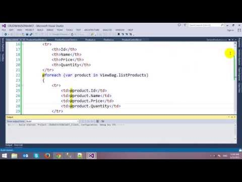 CRUD RESTful WCF Service with JSON in ASP.NET MVC