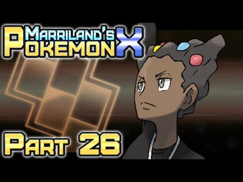 Pokémon X, Part 26: Cyllage City Gym & the Cliff Badge!