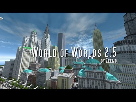 Minecraft | World of Worlds 2.5