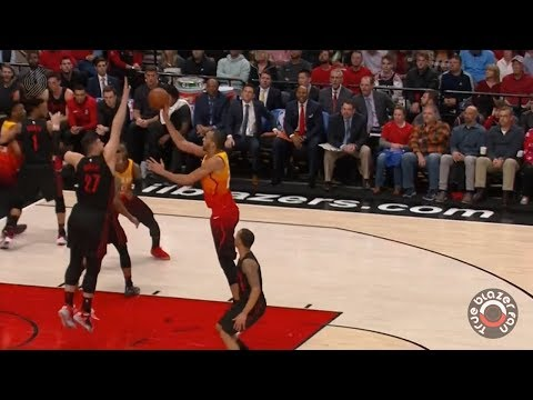 Portland Trail Blazers vs Utah Jazz - Full Game Highlights - April 11, 2018
