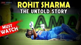 A Tribute to Rohit Sharma - The Untold Story | Emotional cricket videos | Sree Harsha Cricket