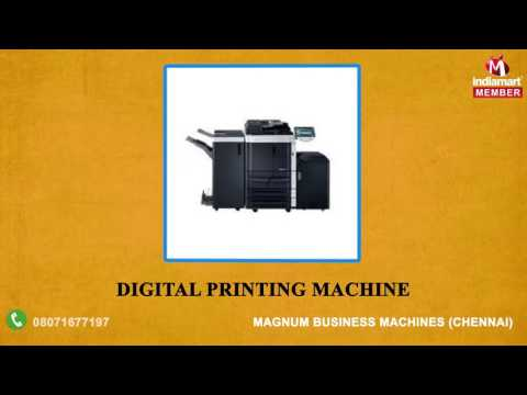 Printer & Printer Spare Part By Magnum Business Machines, Chennai