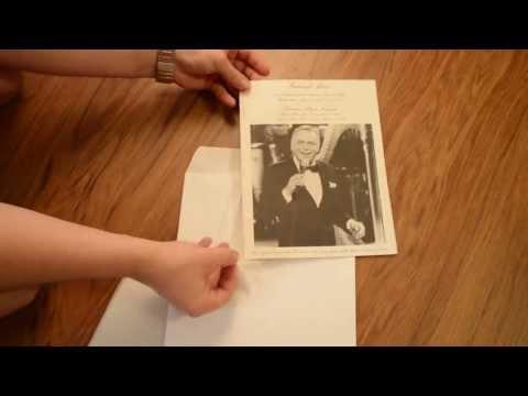 Frank Sinatra Funeral Mass Program for sale on eBay