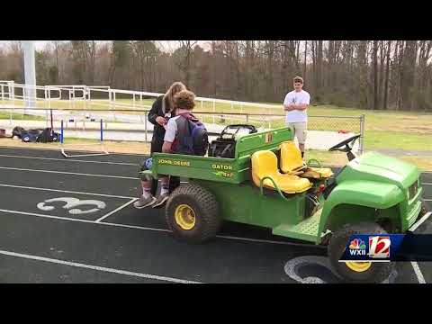 March marks 'National Athletic Training Month': How local trainers keep Triad students safe