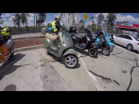 Vespa Club Sydney Blue Mountains Ride 11th December 2016