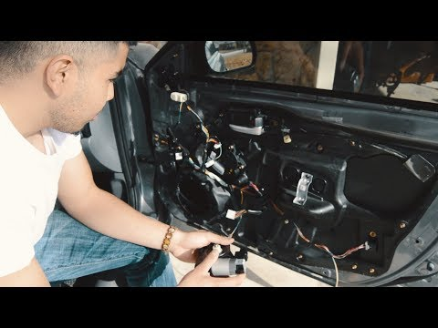 Mazda 6 Window Fix (replacing window motor)