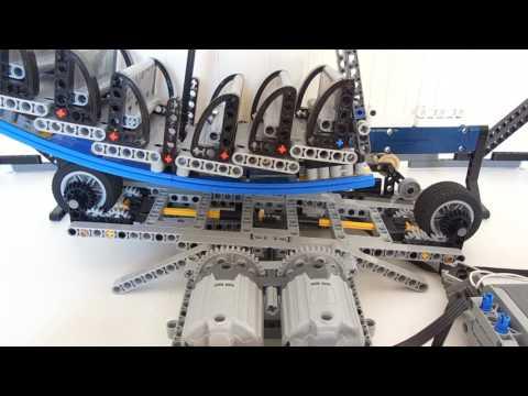Lego Technic Pirate Ship 2