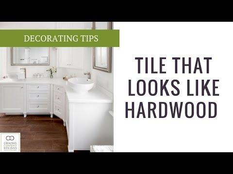Tile that looks like hardwood