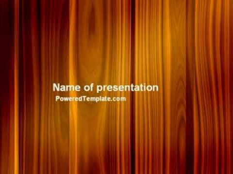 Wood powerpoint template free download wood power wood powerpoint template by poweredtemplate toneelgroepblik Images