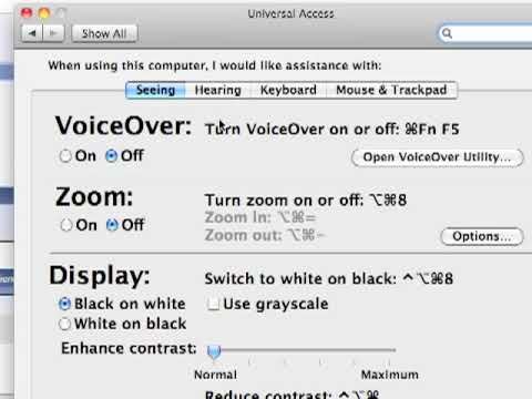 Turn Voice Over Off