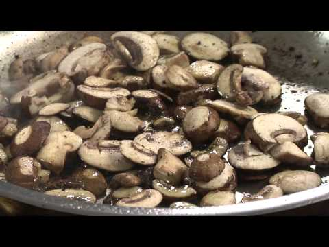 Pan Grilled Steaks with Red Wine Mushroom Sauce