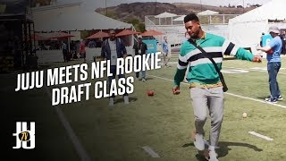 JuJu Smith-Schuster Interviews 2018 NFL Rookies