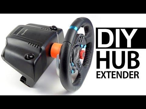 DIY LOGITECH HUB SPACER AND EXTENDER