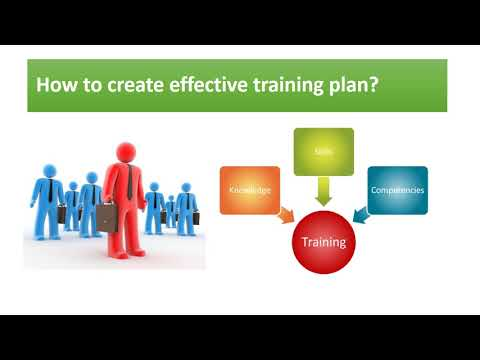 How To Develop An Effective Training Plan For Businesses?