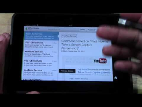 Kindle Fire HD: How to Set Up Your Email​​​ | H2TechVideos​​​