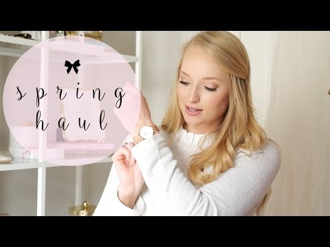 Spring Haul - SheIn, Nordstrom, Valentino Dupes, Kate Spade Outlet, Loft, and more!