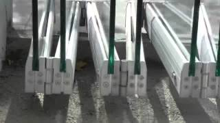 Tauro VD  Sistema oculto para puertas plegables de vidrio