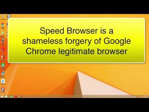 How to remove Speed Browser from your computer