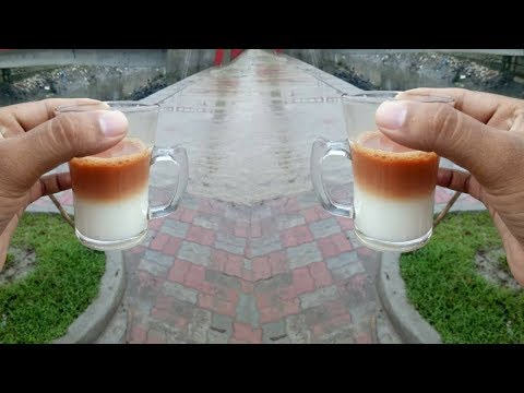 Amazing Two Layer Tea In Street Food || How To Make Two Layer Tea Full Recipe || Food Bank