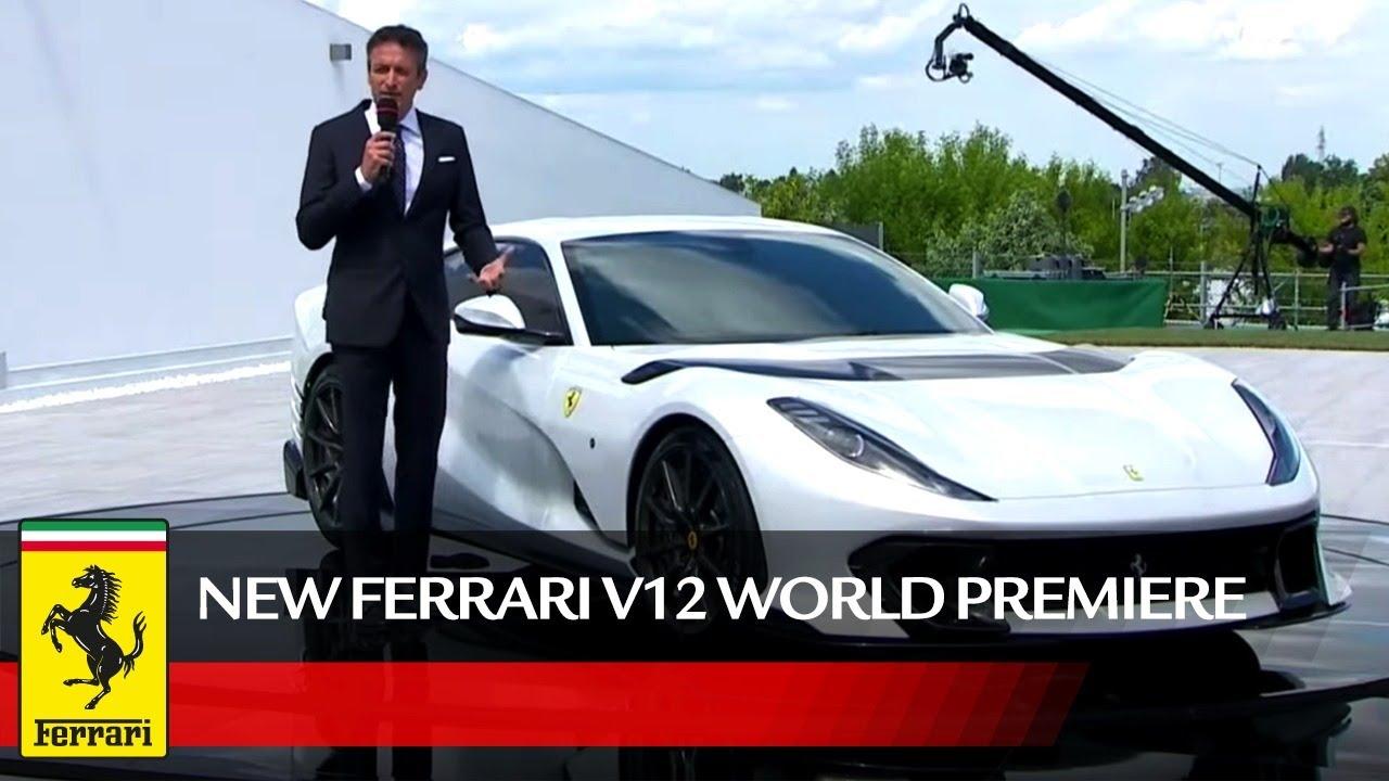 New Ferrari Limited-Edition V12 World Premiere