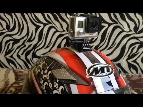 GoPro Curved Mount - Helmet Attachment