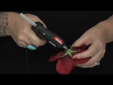 How to Make Pinup Girl Flower Hair Clips