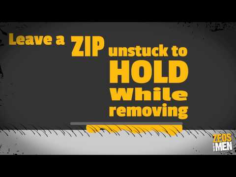 Zeos For Men Guide On to Waxing Your Back - Men's hair removal