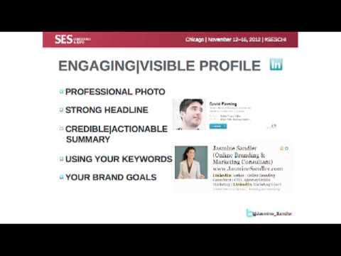 How to Create an Engaging and Visible LinkedIn Profile: Live from SES