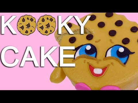 Easy Kooky Cookie Shopkins Character CAKE - How To With The Icing Artist