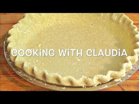 How to make perfect flaky pie crust -- Homemade pie crust recipe