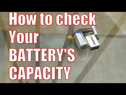 How to check battery capacity