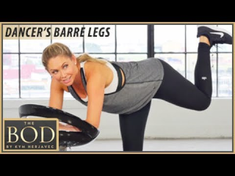Dancer's Barre Legs Workout #1: The BOD -Dancing with the Stars' Kym Herjavec