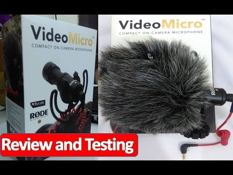 Rode Microphone VideoMicro review and testing Hindi