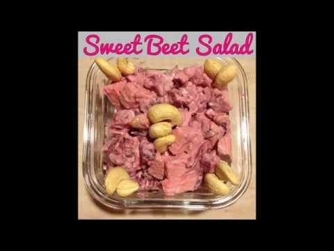 Vegan Sweet Beet Salad