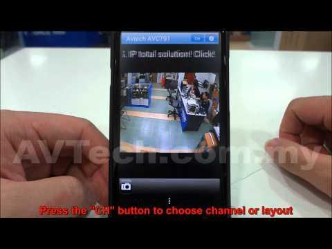 AVTech Eagleeyes tutorial - android