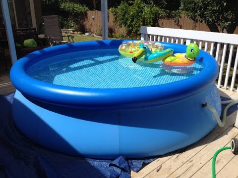 Intex Easy Set Pool Review | Inflatable Pool