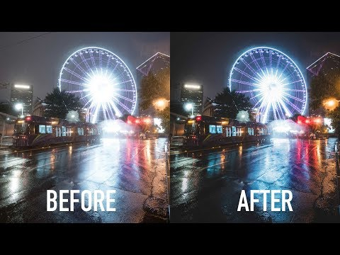 Transforming Your Night Photos In 3 Quick Steps