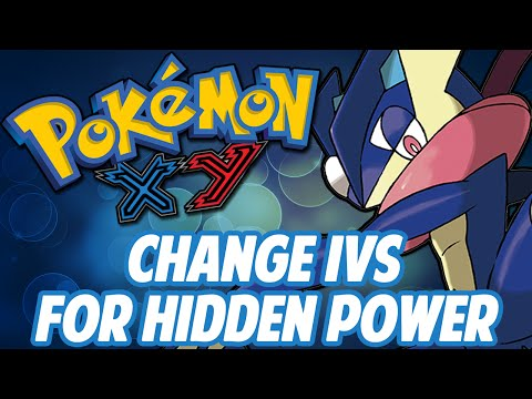 Pokemon X/Y Powersaves Tutorial: How to Change IVs for Hidden Power