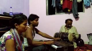 sargam dubey with subash kanaujiya